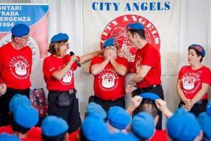 Walker, ViceCoordinatore dei City Angels di Campomarino, in un momento felice