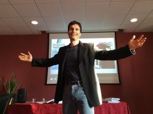 Mario Furlan, life coach, durante un corso di formazione