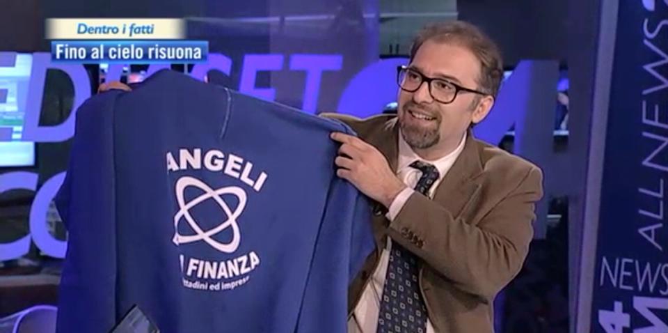 Domenico Panetta, fondatore e presidente Angeli della Finanza