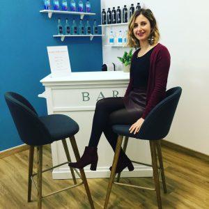 Isabella Ciolino nel suo centro massaggi anticellulite e rimodellanti, a Milano