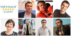 Gianluigi Rando e i docenti della Top Coach Academy