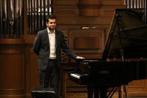 Il pianista Andrea Tamburelli