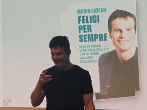 Mario Furlan durante un corso di motivazione