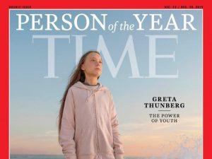 Greta Thunberg sulla copertina di Time