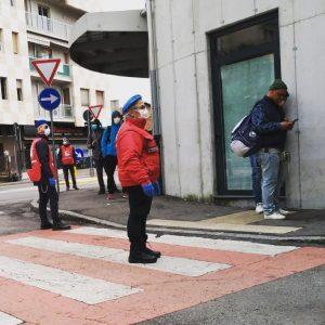 Bergamo: i City Angels alla mensa dei poveri