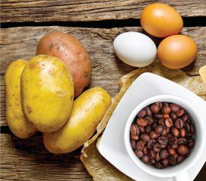 Cosa sei: una patata, un uovo o un chicco di caffé?