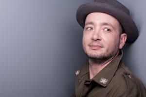 Il cantautore Daniele Meneghin