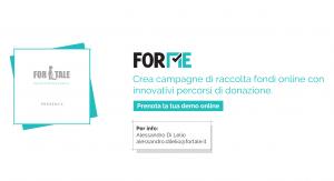 ForMe, per la raccolta fondi delle no profit
