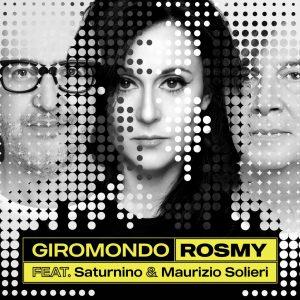 La cantautrice Rosmy con Saturinino e Maurizio Solieri